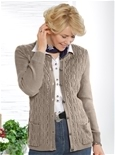 Cable Knit Cashmilon Cardi_19Q34_0