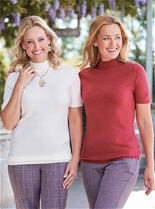 2 Pack Short Sleeve Sweaters