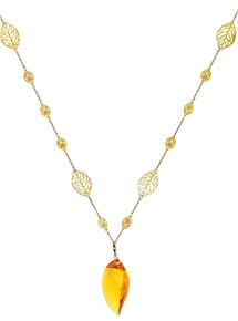 Golden Cascade Necklace