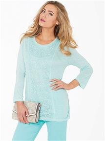 Capri Pearlesque Top