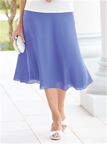 Full & Floaty Georgette Skirt