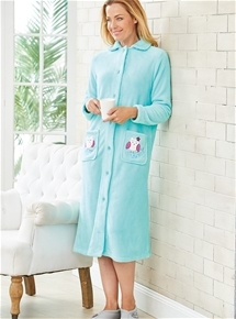 Owl Fleece Gown