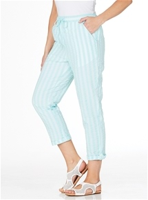 Seersucker Stripe Pants
