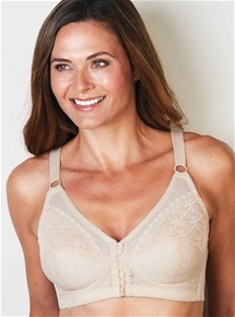 Lace Cup Front Fastening 2 Pack Bras