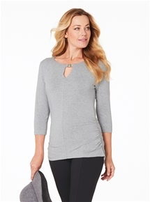 Travel Rouched Top