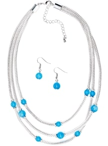 Anita Necklace & Earring Set