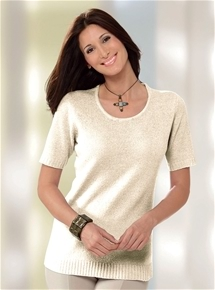 Luxe Knit Short Sleeve