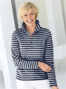 Stripe Fleece