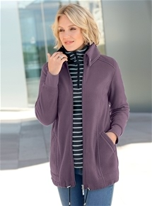 Panelled Fleece Jacket