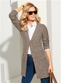 Long Line Cuddly Cardigan