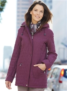 Quilted Microfibre Parka