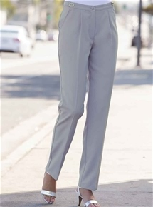 Adjustable waist trousers