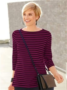 Staple Stripe Tee