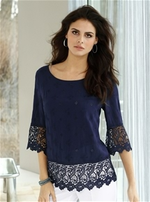 Elaborate Lace Blouse