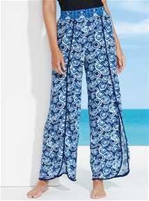 Resort Print Pants