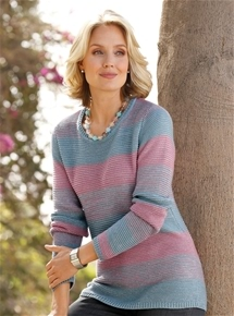Sunset Stripe Sweater