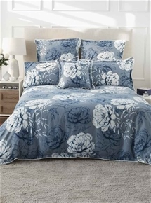 Phoebe Ink Quilt Cover Set
