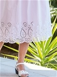 Embroidered Cotton Skirt_15A85_1