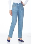 Studded Pocket Fit and Flatter Jeans_15W11_0
