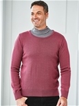 Mens Thermal Crew Neck Sweater_1703_0