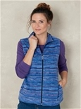 Stripe Fleece Vest_19W15_2