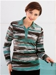 Monet Stripe Polo_19Y34_1