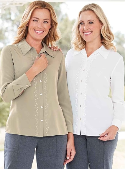 2 Pack Embroidered Shirts