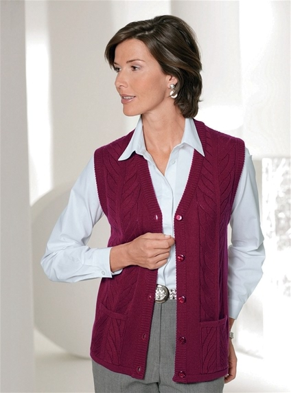 Patch Pocket Vest